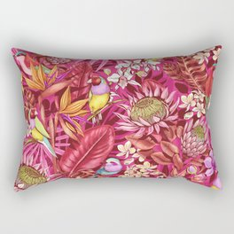 Stand out! (sunset flame) Rectangular Pillow