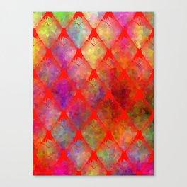Strawberry Hearts Canvas Print