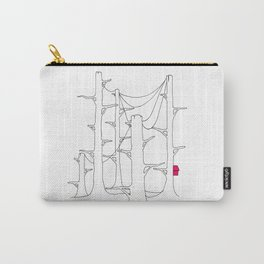 Telegraph pole forest. Carry-All Pouch