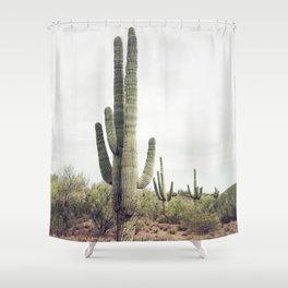 Desert Cactus Shower Curtain
