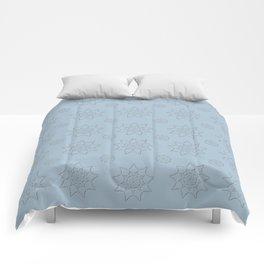 3D Pattern Stone - Pointilism Pattern Comforters