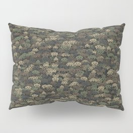 Invaders camouflage Pillow Sham
