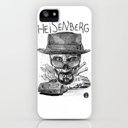 Heisenberg. I'm the one who knocks. iPhone Case