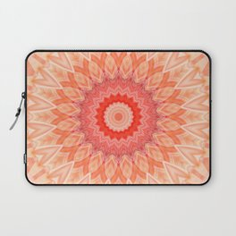 Mandala soft orange Laptop Sleeve