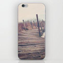 Wanderlust - Roam Wherever the Path May Lead iPhone Skin