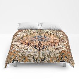 Ferahan Arak  Antique West Persian Rug Print Comforters