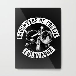 Daughters of Freyja Metal Print