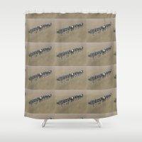 revolution Shower Curtains featuring Revolution by politics