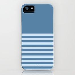 Horizon All Blue iPhone Case