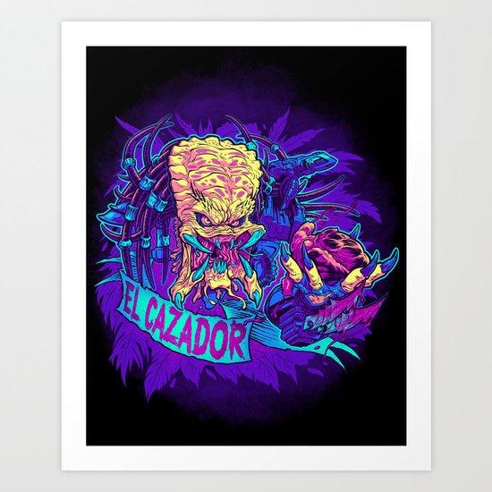 EL CAZADOR (the Hunter) Art Print