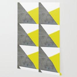 Concrete vs Corn Yellow Wallpaper