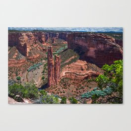 canyon de chelly national monument Canvas Print