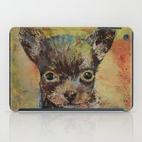 chihuahua iPad Cases featuring Chihuahua by Michael Creese
