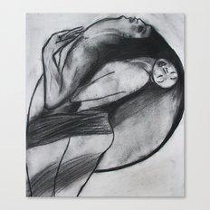 LOVERS  (ORIGINAL SOLD) Canvas Print