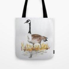 Bernache du Canada (Canada Goose) Tote Bag