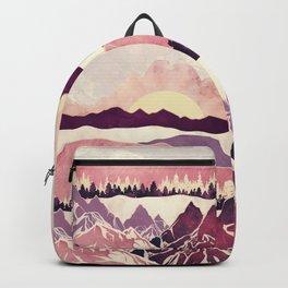 Burgundy Hills Backpack