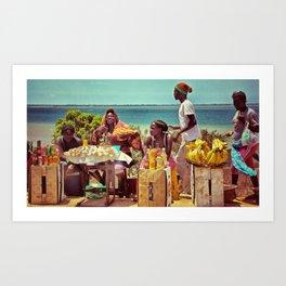 Angola Art Print