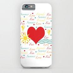 Fun, love, friends etc iPhone 6s Slim Case