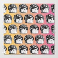 Minifigure Pattern - Hot Canvas Print