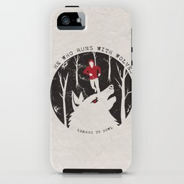 Sterek: He Who Runs With Wolves iPhone Case