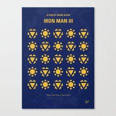 No113-3 My Iron 3 minimal movie poster Canvas Print