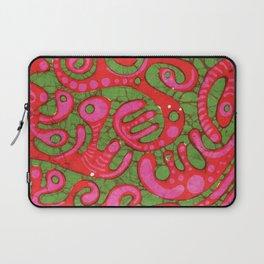 Doublewide Goove Batik Laptop Sleeve