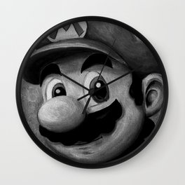 Plumber King Mario Wall Clock