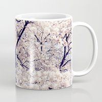 cherry blossom Mugs featuring Cherry Blossom * by Neon Wildlife