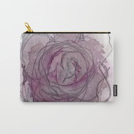 Rose - Abstract Watercolour Carry-All Pouch