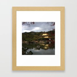 The Golden Pavillion Framed Art Print