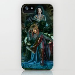 Return To Labyrinth iPhone Case