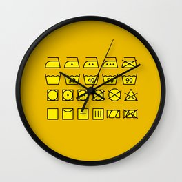 Wash & care instructions Wall Clock