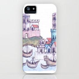 Imaginative journeying iPhone Case
