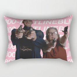 Liz and Iris Rectangular Pillow