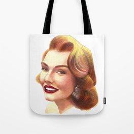 Vintage Gal Tote Bag