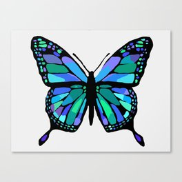 The Shattering Butterfly Canvas Print