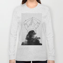 Its better to disappear. Long Sleeve T-shirt