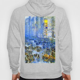 Childe Hassam Fifth Avenue New York Hoody