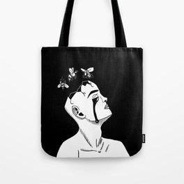 Bee-Head Tote Bag