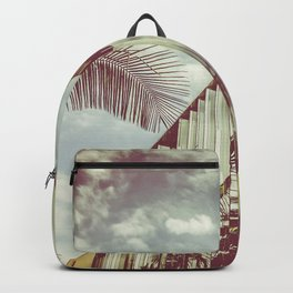 Beverly Hills - Palm Reflections III Backpack