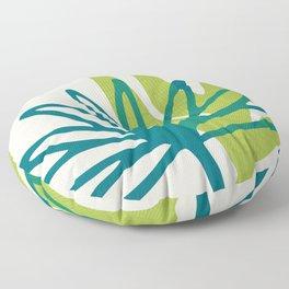 Whimsical Greenery Floor Pillow