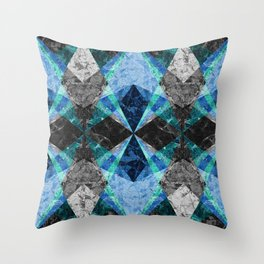 Marble Geometric Background G432 Throw Pillow