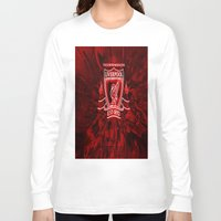 liverpool Long Sleeve T-shirts featuring LIVERPOOL LOVER by Acus