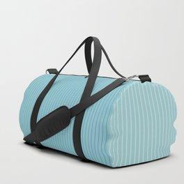 Color Block Lines VIII Blue Duffle Bag
