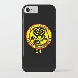 Karate kid Cobra kai clan iPhone Case