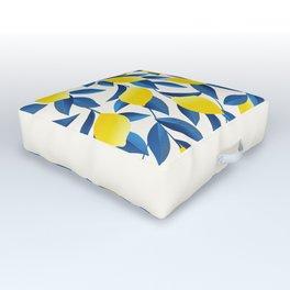 Lemons Outdoor Floor Cushion
