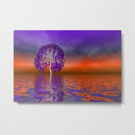 there was a tree -05- Metal Print