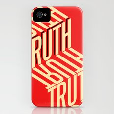 Finding Truth iPhone (4, 4s) Slim Case
