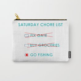 Chore List Carry-All Pouch