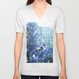 Save the Bees Campaign Unisex V-Neck